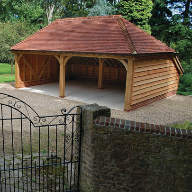 The Oak Garage Company: Traditional Oak Framed Garages