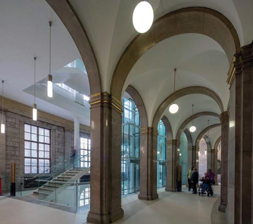 Ryder Architecture – Manchester Central Library