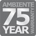 Ambiente 75 Year Warranty