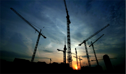 """Construction downfall in March """