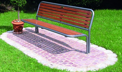 Erlau street furniture