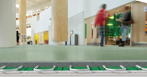 Flowcrete's GREEN Floorzone