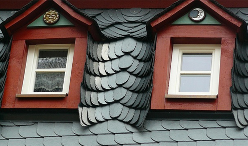 /Slate roofing