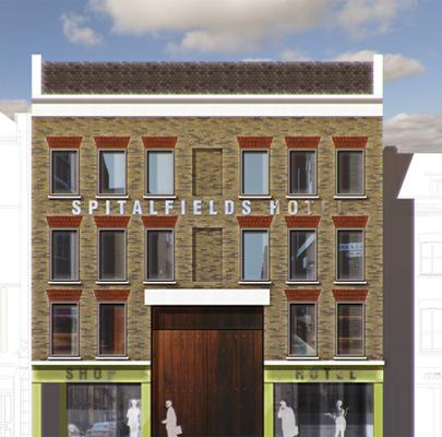 Spitalfields Hotel, Tower Hamlets