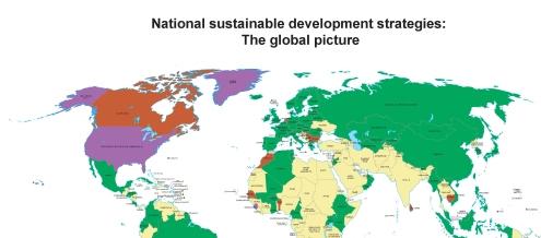 /sustainable globe map