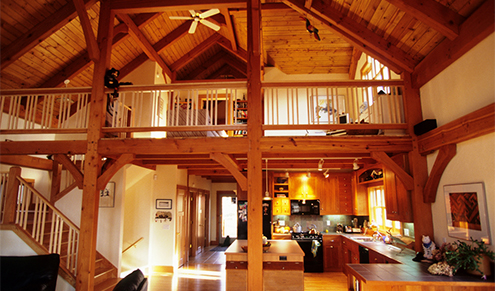 timber frame;