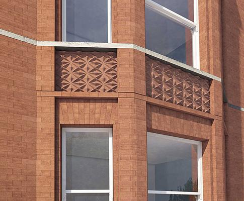 Hans Place Brickwork