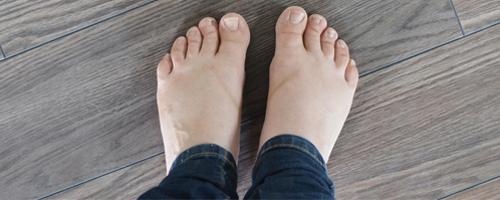 """warm feet """