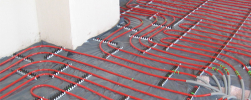 """underfloor heating """
