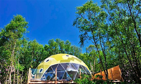 Ecopod boutique retreat, Argyll