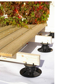 TD Timber decking supports