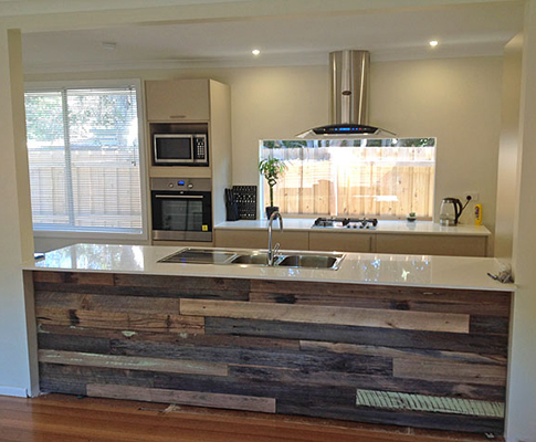 Reclaimed Wood Fitted Kitchens