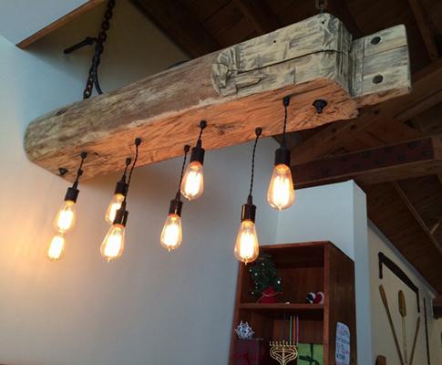 Reclaimed Wood Lighting