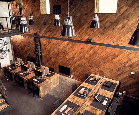 Reclaimed Wood Interior Cladding