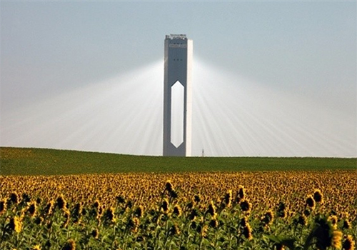 PS20 Solar Tower Plant in Spain